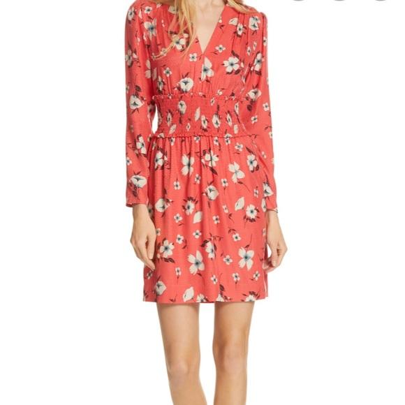 NWT Rebecca Taylor Coral Dress